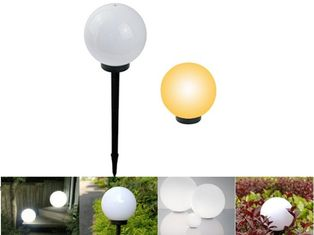Cina Waterproof Solar Powered Outdoor Lights / Outdoor Solar Ball Lights Penghematan Energi pemasok